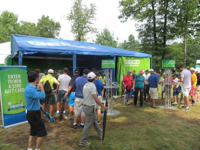 The Deutsche Bank Championship is a PGA TOUR tournament Geico Activation