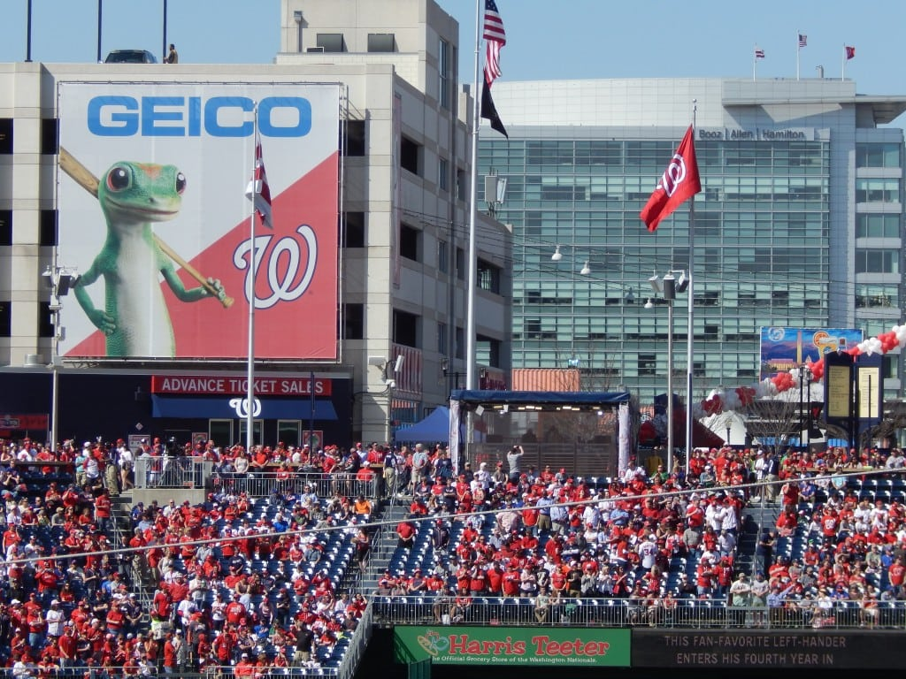 Professional baseball sports sponsorship Mills Marketing & Communications Washington Nationals