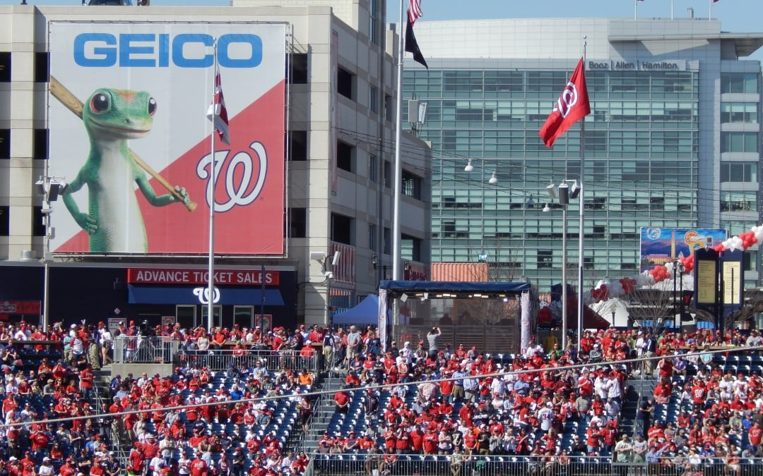 Geico to become first founding partner of the Nationals in 2008
