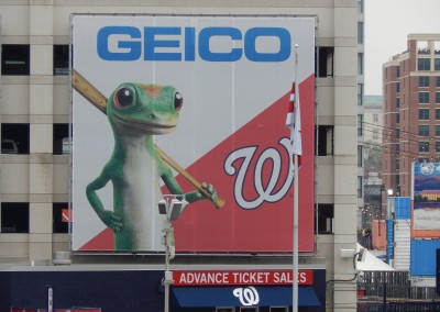 Washington Nationals Opening Day Billboard