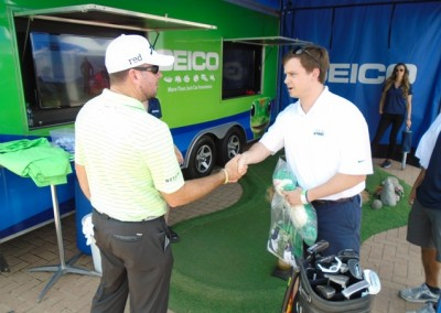 The Deutsche Bank Championship in Boston, Massachusetts Professional Golf Activation