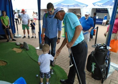 The Deutsche Bank Championship in Boston, Massachusetts Golf Activation