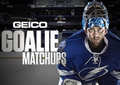 GEICO Goalie Match Up