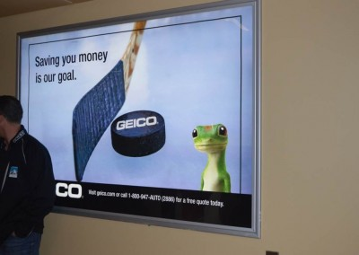 Arizona Coyotes GEICO Backlit Concourse