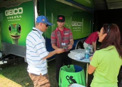 The Deutsche Bank Championship in Boston, Massachusetts Golf Activation