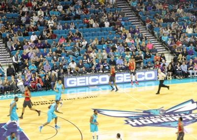 Charlotte Hornets GEICO NBA Sports Sponsorship