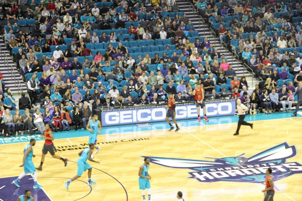 Professional Basketball Activation Images Samples